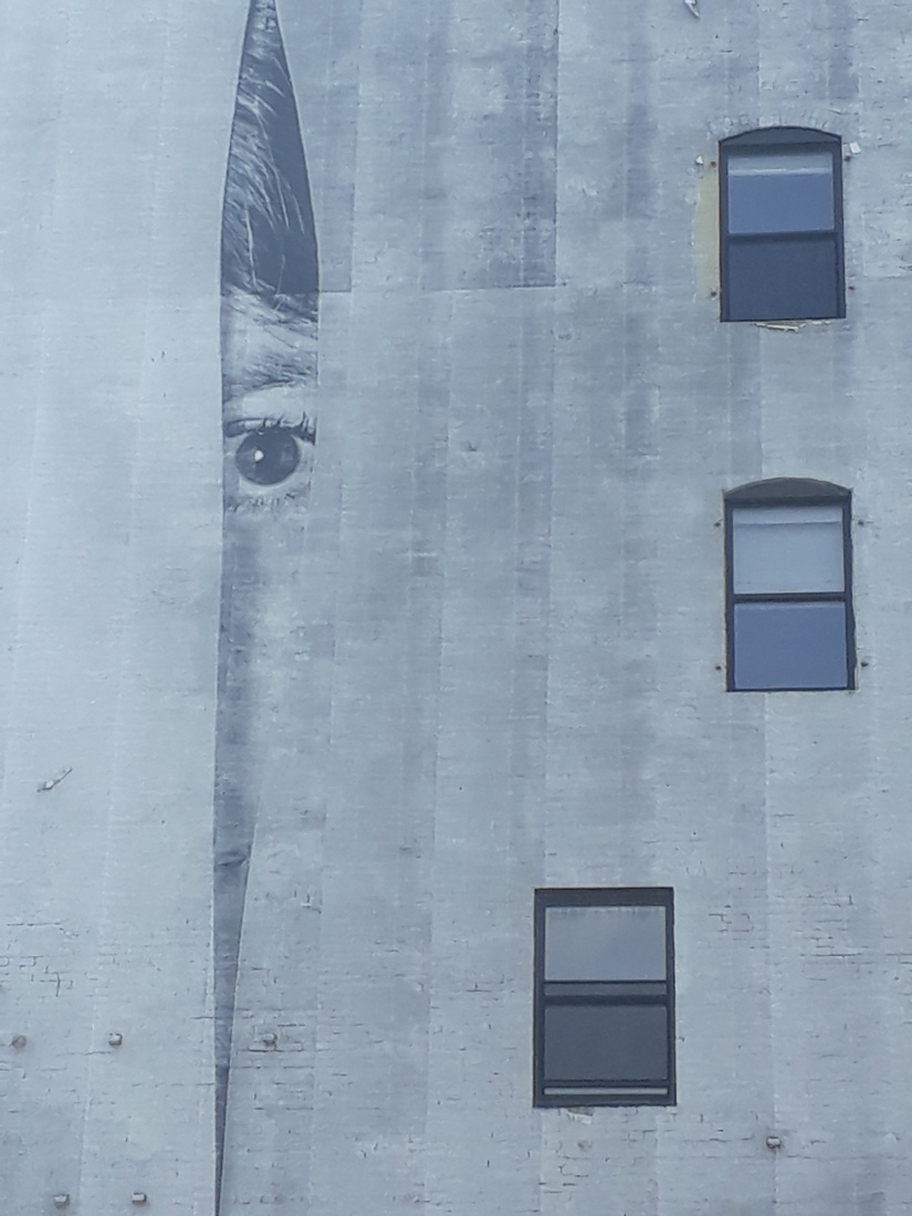 Street art in the East Village, artist unknown
