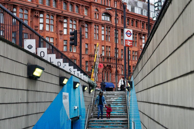 Old Street tube exit
